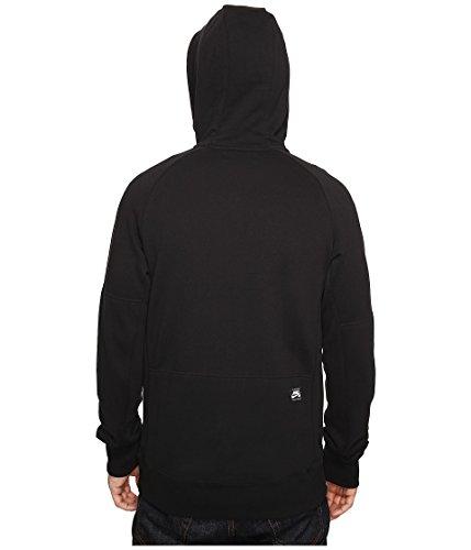 Nike sb-everett FZ Hoodie sweat-shirt-homme Negro (Black / White)