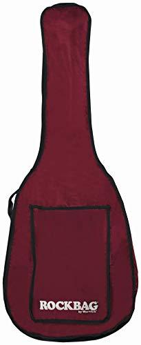 Rockbag Tasche für Westerngitarre - Eco Line - weinrot/reißfest und wassergeschützt