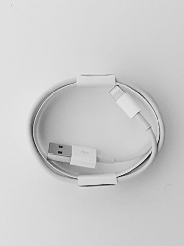 Apple - Cavo USB Lightning MD818ZM/A per sincronizzazione dati e caricabatterie per Apple iPhone 5 5S 6 6 Plus/6S, 6S Plus, 7, 7 PLUS, iPad iPod IN BLISTER