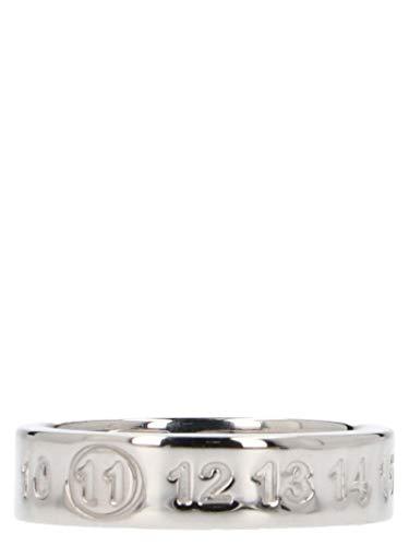 Maison Margiela Damen S30uq0016s11914951 Silber Metallsiche Fasern Ring