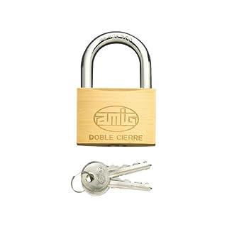 AMIG 2Double Locking Padlock 40mm