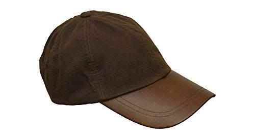 imperm/éable//visi/ère en cuir Casquette en tweed Derby taille unique Walker /& Hawkes unisexe