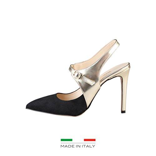 Made In Italia Cecilia, Scarpe col tacco donna nero Size: EU 40