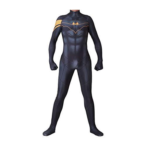 YEGEYA Fledermaus Cosplay Kostüm Halloween Strumpfhose Erwachsene Party Requisiten (Color : Black, Size : L) (Body Bag Für Erwachsene Kostüm)