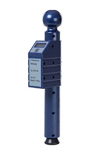 Preisvergleich Produktbild Digitale Stützlastwaage bis 150kg (blau) - Caravaning Testsieger