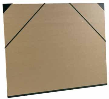 Clairefontaine 44600C Exacompta Zeichenmappen Kraft, 60 x 85 cm Stück, braun