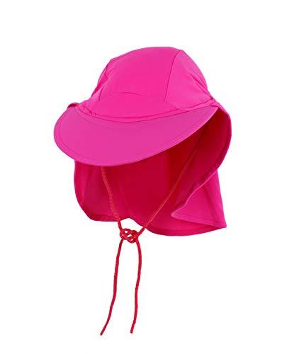 Yoccoes - Chapeau anti UV - Bébé (fille) rose 9 à 18 mois