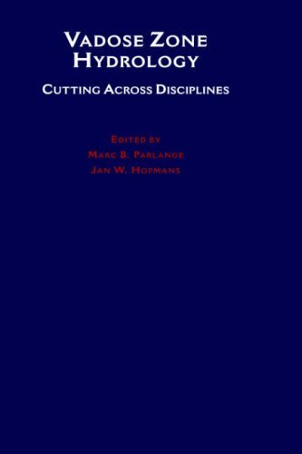 Vadose Zone Hydrology: Cutting Across Disciplines (1999-08-05)