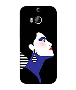 PrintVisa Designer Back Case Cover for HTC One M8 :: HTC M8 :: HTC One M8 Eye :: HTC One M8 Dual Sim :: HTC One M8s (Love Lovely Attitude Men Man Manly)
