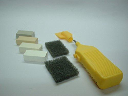 Ceramic & Vinyl Tiles Repair Kit – White, Off Whites, Cream Shade Whites, Grey Shade Whites, Any Shade Of White Etc.