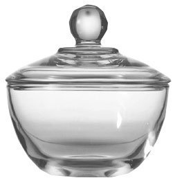 Anchor Hocking Sugar Bowl With Cover Presence 8 Oz Crystal by Anchor Hocking Crystal Sugar Bowl