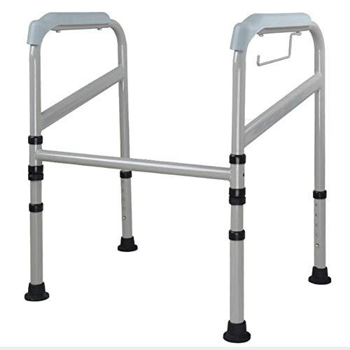 ZLL Medizinischer Reha-Stuhl, Rollstuhl, Leichter, Zusammenklappbarer, Verstellbarer Gehhilfe-Fahrstuhl, Toilettenarmlehne, Mutterschafts-Hebebühne