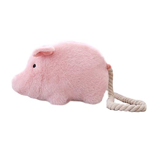 Kleines Schwein Spielzeug Tasche Plüsch Schwein Puppe Umhängetasche kleine niedliche Schwein gefüllt Spielzeug Geldbörse Geldbörse (Pink) (Schwein Spielzeug Gefüllte)