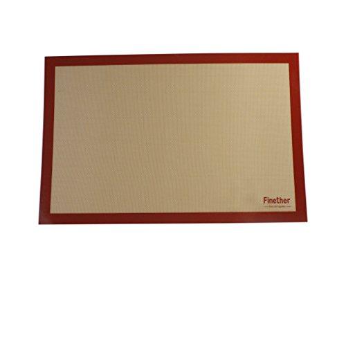 finether-tapis-de-cuisson-en-silicone-et-fibre-de-verre-antiadhsif-four-tapis-de-micro-ondes-rouge