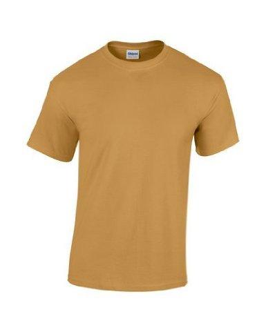 Gildan - Heavy Cotton - Maglietta Manica Corta - Uomo XX-Large,Old Gold