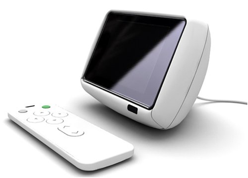 iRiver U10 Docking Station – Basis Weiß