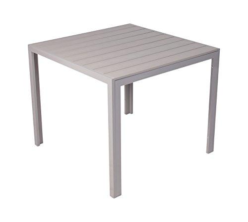 Table de jardin aluminium