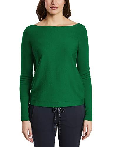 Street One Damen Pullover 300838 Noreen, Grün (Jolly Green 11508), (Herstellergröße:42)
