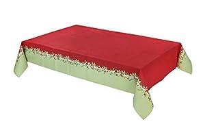 Talking Tables decoraciones de fiesta de navidad temporada festiva BC-BERRY-TCOVER-Funda para mesa, color