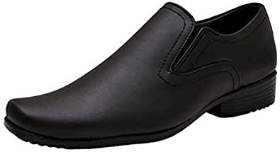 Hirel's Mens Faux Leather Formal Shoes