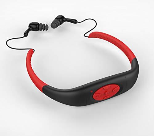 Schwimmen MP3-Player wasserdicht, Wasserdichte IPX8-Kopfhörer Musik-Player zum