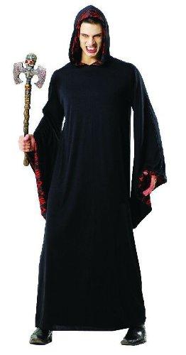 - Schwarz Halloween Robe