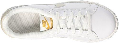 Nike Damen Wmns Court Royale Tennisschuhe Weiß (White/light Bone/mineral Yellow 110)