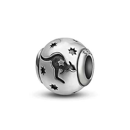 925 Sterling Silber Kürbis Hängende Charms für Europäische Armband & Halskette, Natur Glück Inspiration Charms [Herbst Ernte Serie], Schmuck von CELESTIA -