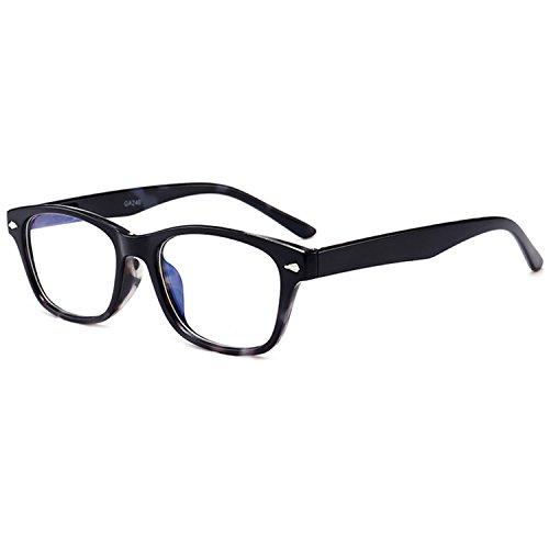 VEVESMUNDO® Lesebrillen Herren Damen Klassische Scharnier Brille Lesehilfe Augenoptik Vollrandbrille 1.0 1.5 2.0 2.5 3.0 3.5 4.0 (4 Farben PACK(Schwarz+Braun+Grau+Gold), 1.5)