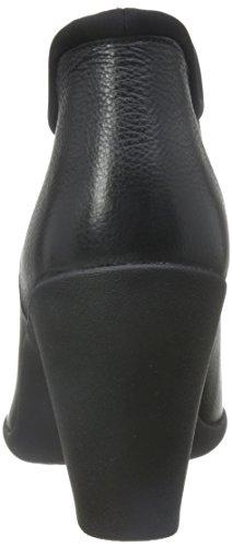 Adya Bella - Black Leather Black