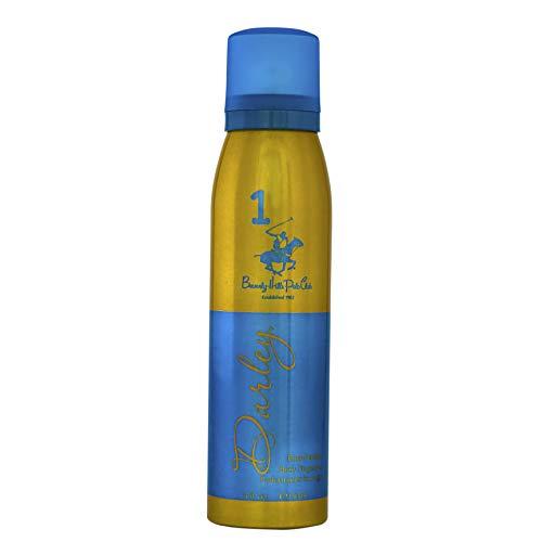 Beverly Hills Polo Club Women Gold Body Fragrance, Darley, 150ml