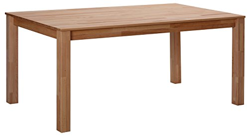 Bonn Buche Esstisch Massivholz Tisch Natur 100% 140x90x75 cm Esszimmertisch