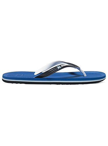 Quiksilver Haleiwa, Tongs Homme Noir - Black/Blue/White