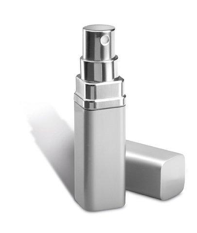 Atomiseur de parfum élégant Argenté