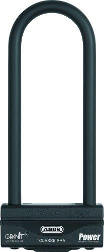 ABUS - Antivol U pour Moto Granit Power 58/140HB III 260 SL certifiée SRA et NF Noir