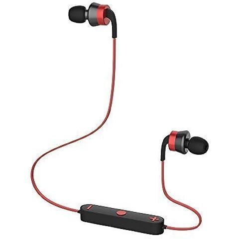 Trendwoo Runner X3– Auriculares Inalámbricos Estéreo Bluetooth 4.0 para deporte correr con Manos libres Micrófono incorporado