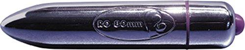 ROCKS OFF Mini-Vibrator Munition für die Liebe in chrome