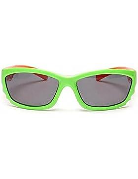 HJXJXJX Ragazzi e ragazze multicolore silicone occhiali da sole occhiali da sole polarizzati di materiale per...