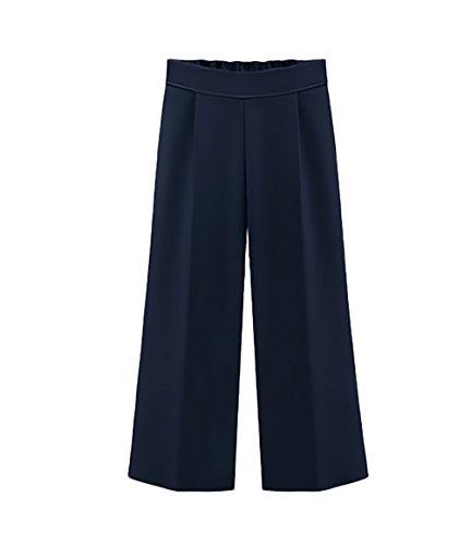 Pantaloni donna vita alta chiffon eleganti estivi pantaloni larghi pantaloni taglie forti moda casual pantalone abbigliamento ragazza
