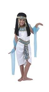 Humatt Perkins 51547 - Disfraz de reina egipcia para niña, talla M  7-10 años