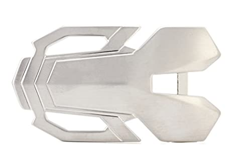 Gurscour Top Quality New Fashion 35mm Alloy Silver Belt Buckles for men