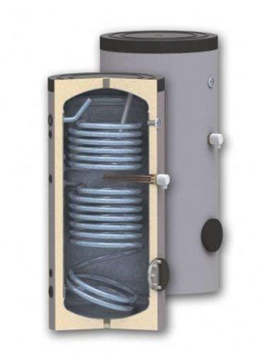 400 Liter Solarspeicher Trinkwasserspeicher SON400 Liter 2 Wärmetauscher 50mm Isolierung