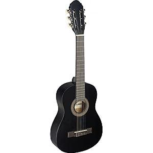 Stagg C405 C405 M BLK-Chitarra classica 1/4, colore: nero