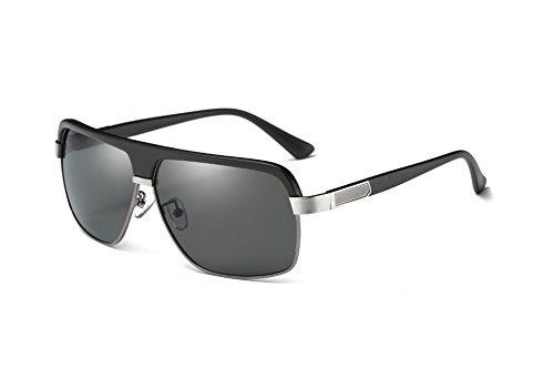 b1f5778ff2 ANSKT Men's Polarized Sunglasses, Gun Color, 3Lunettes De Soleil Protection  UV400, Pour Surf