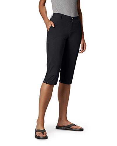 Columbia Knielange Wanderhose für Damen, Saturday Trail II Knee Pant, Nylon, schwarz, Größe: 8, AL8672 -
