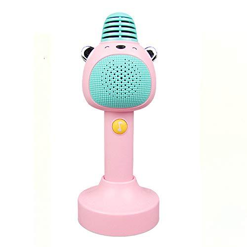 JAYDENN Drahtlose Bluetooth K Lied Kinder singen Palm Ktv Mikrofon Mikrofon Baby Früherziehung Geschichte Maschine Spielzeug (Drahtlose Mikrofone Für Kirchen)