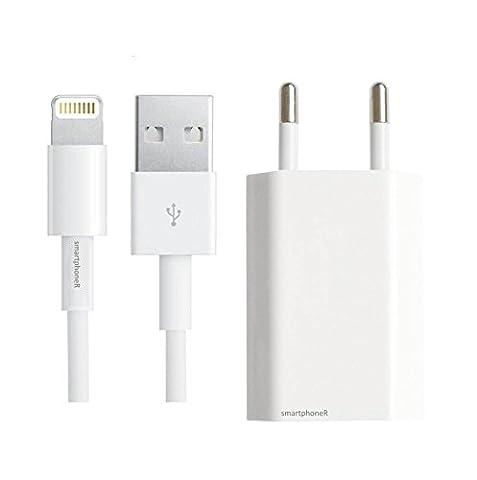 Chargeur Kit pour iPhone 6, 6 Plus, 5, 5c, 5s