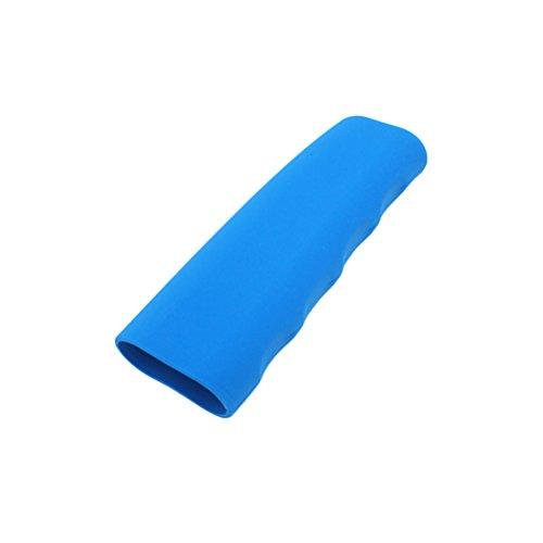 VORCOOL Displayschutzfolie der Abdeckung des Silikon Handbremse Schutzhülle Praxis Wellenform Universal (Blau)