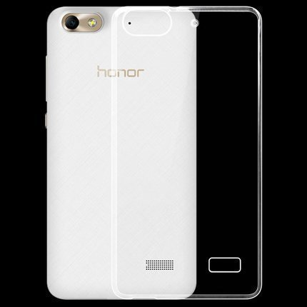 Plus Ultra Clear Transparent Flexible Soft TPU Slim Back cover for Huawei Honor 4C