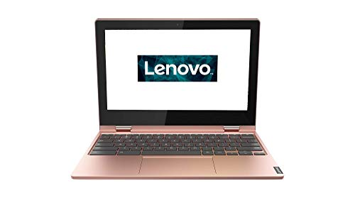 Lenovo Chromebook C340 29, 5 cm (11, 6 Zoll HD IPS) Slim Convertible Notebook (Intel Celeron N4000, 4 GB RAM, 64GB eMMC, Intel UHD-Grafik 600, Chromeos) Rosa